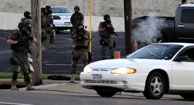 Tense And Restless Evening In Ferguson Ends In Tear Gas And Another Police Shooting