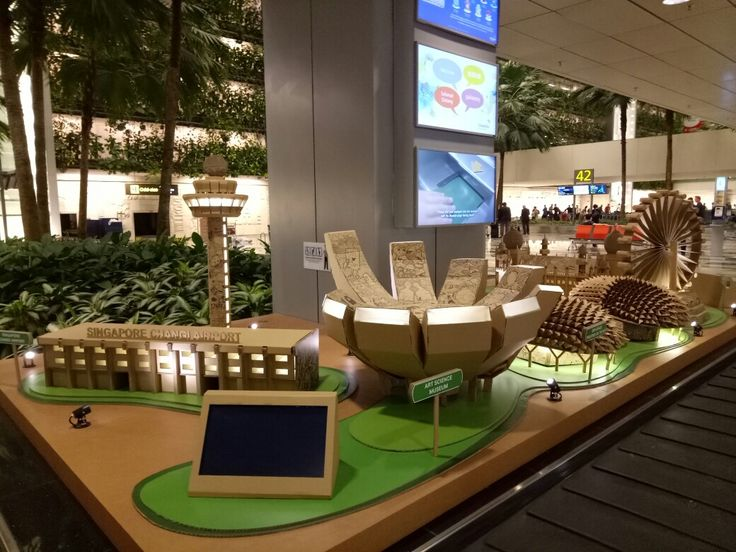 Singapore International Airport,  Terminal 3, Arrival hall