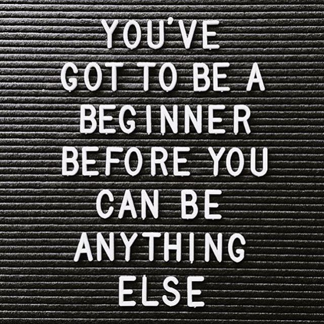 INSPIRE ✔️ If you are busy watching others on social media wishing you were lifting that heavy, running that far or pulling that yoga move, remember every single one of those people were once a beginner - like you. Start doing, stop wishing #MINDFitInspire