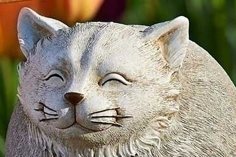 31 Cat Garden Statues that will Beautify Your Garden | Pictures of Cats - Band of Cats