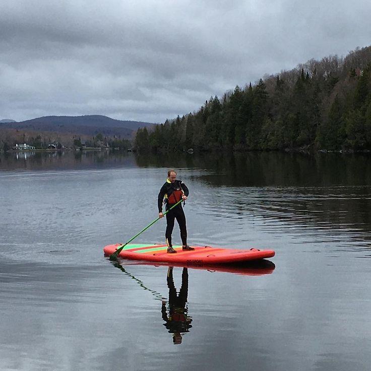 7 endroits parfaits où faire du paddle board (SUP) au Québec
