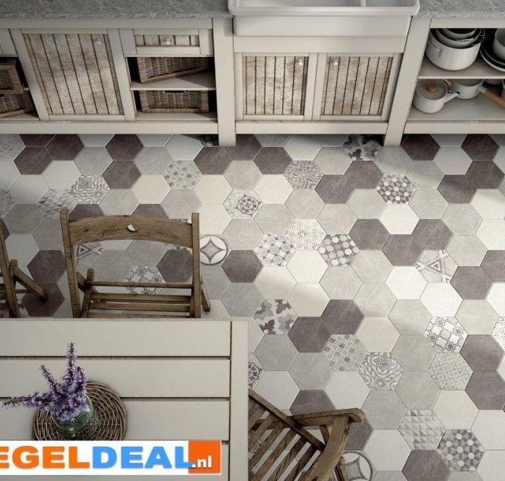 161 best images about tegels on pinterest toilets vintage and 12 - Vloertegel cement ...