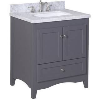 30 inch bathroom vanity with marble top