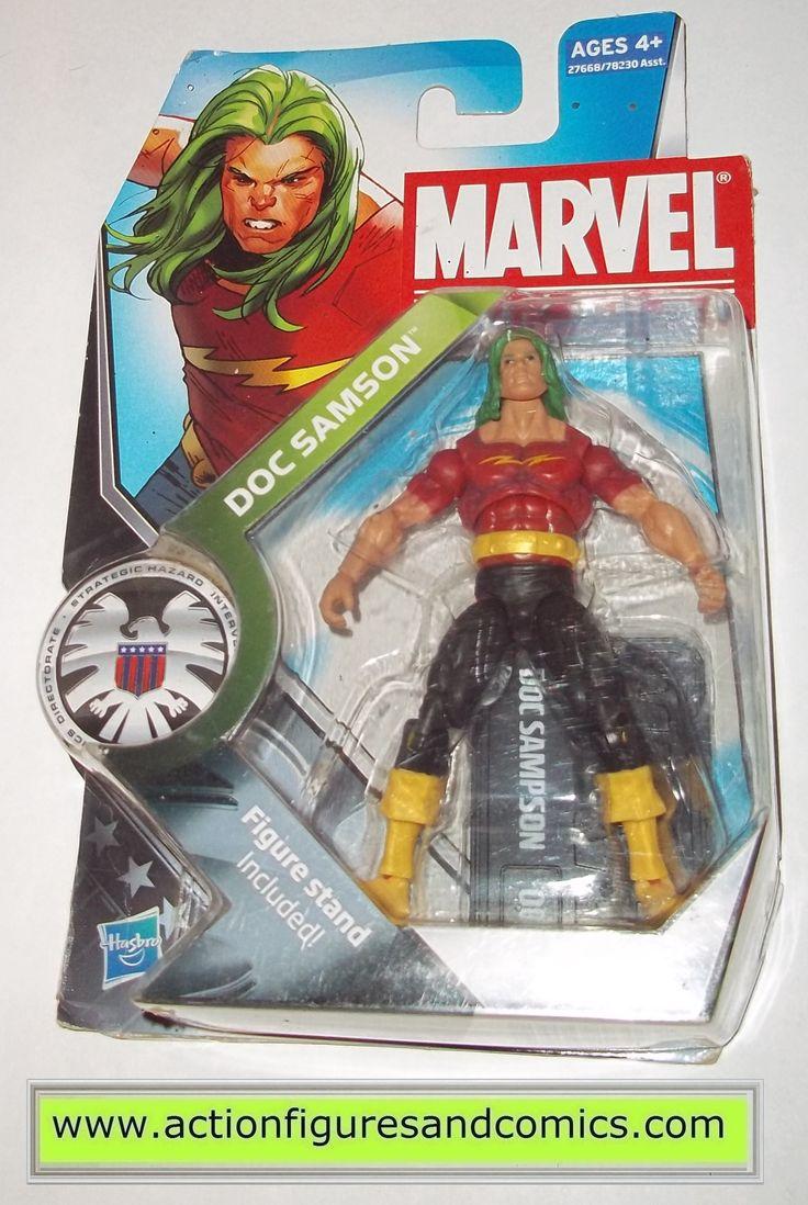 marvel universe DOC SAMSON hulk 002 series 3 2011 hasbro toys action figures moc mip mib