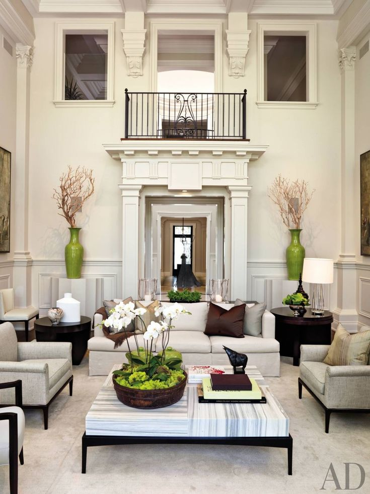 Traditional Living Room by Powell & Bonnell | AD DesignFile - Home Decorating Photos | Architectural Digest