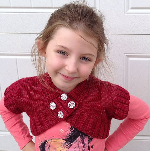 Stunning! czcestaro's Shrugs and Kisses in Girly Fun DK by Colour Adventures Yarns #knitting