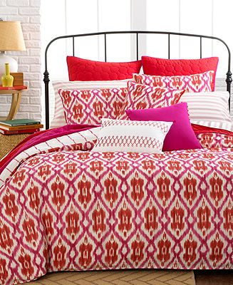 Closeout Tommy Hilfiger Preppy Ikat Comforter And Duvet