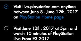 """[Screenshot] PSA: These are the challenges for the """"Stars"""" E3 PS4 theme. Thought I'd let y'all know. #Playstation4 #PS4 #Sony #videogames #playstation #gamer #games #gaming"""