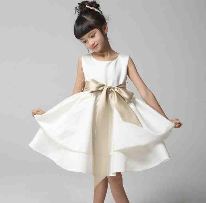 Flower girl dresses ivory color