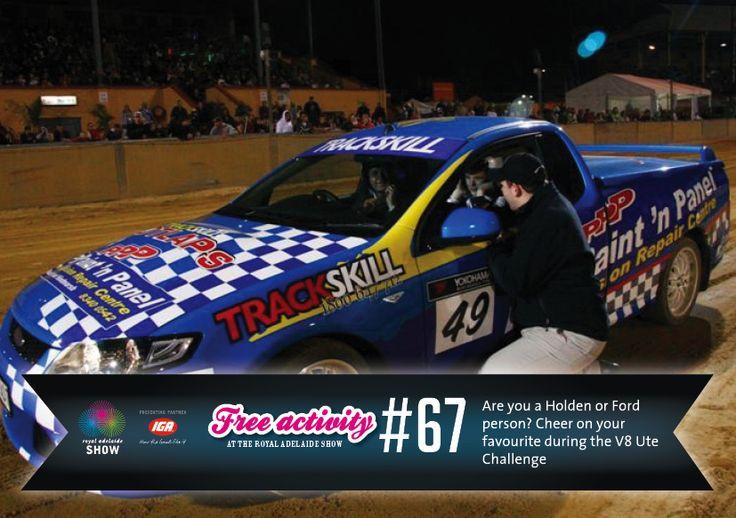 Trackskill Ute Challenge! #AdelShow
