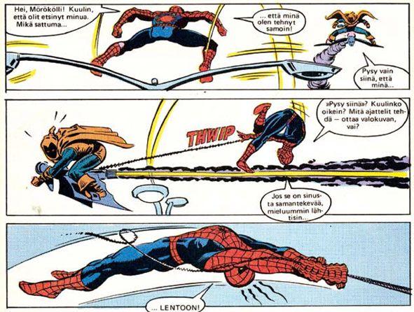 Hämähäkkimies - Vuosikerta 1984. #näköispainos #sarjakuva #sarjis #egmont