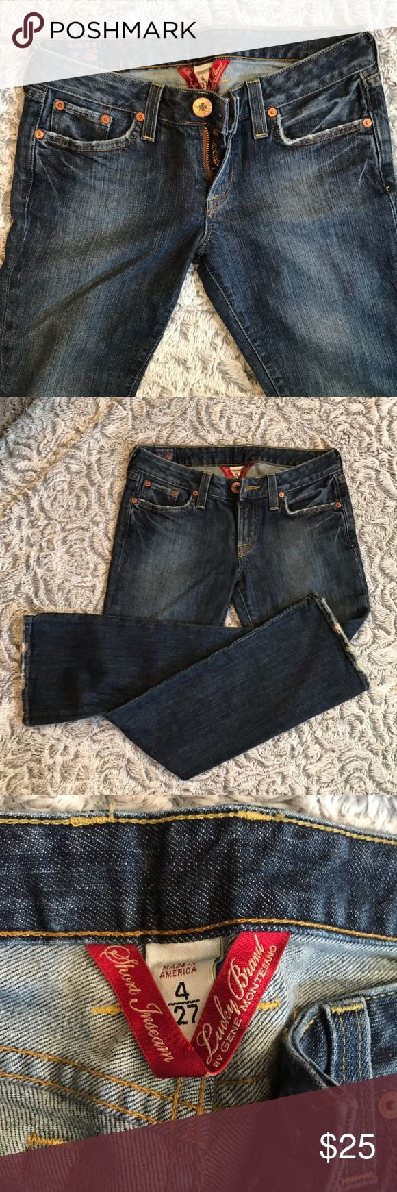 LUCKY JEANS 🍀🍀🍀 LUCKY JEANS 🍀🍀🍀 size 4, great condition! Lola boot jean! Awesome fit Lucky Brand Jeans Boot Cut