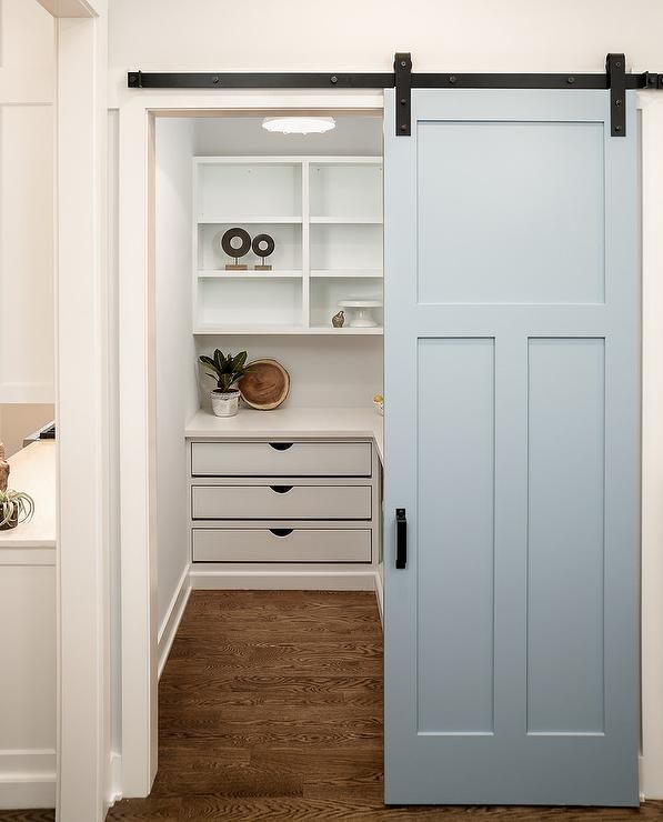 White Farmhouse Sliding Door Cabinet: Best 25+ Custom Pantry Ideas On Pinterest