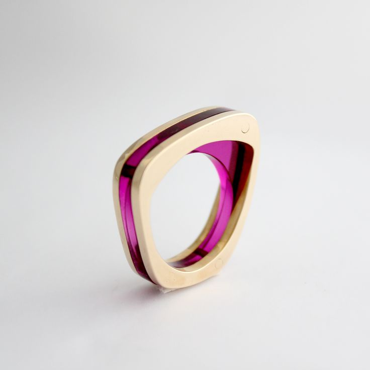 Modern Bronze & Acyclic Ring  (please comment if you know the artist)