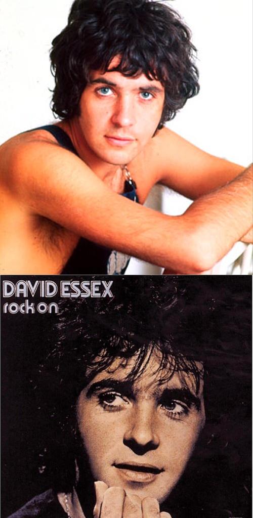 "David Essex ""Rock On"" (1973) had a huge crush on him"