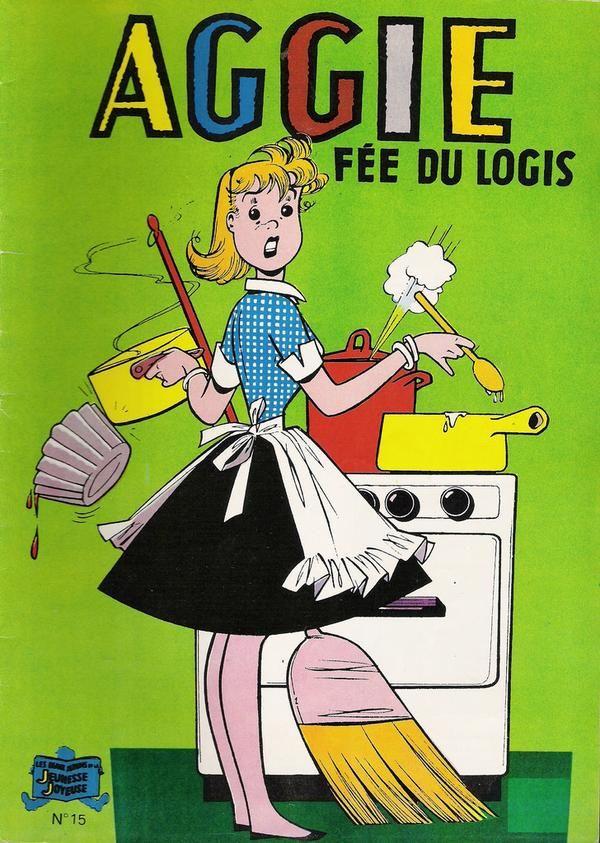 Aggie: une série de BD que j'avais beaucoup aimées, achetées par ma maman au Viniprix du coin !