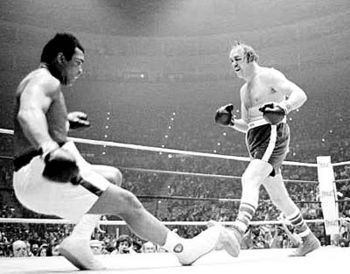 Chuck Wepner when he got Ali mad... After this moment, it all went downhill of the liquor merchant...