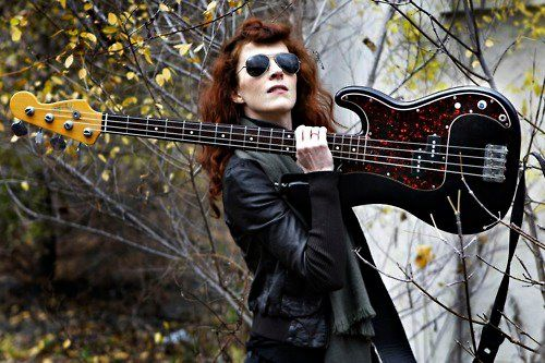 Melissa Auf der Maur of Hole, Tinker and the Smashing Pumpkins  #bass