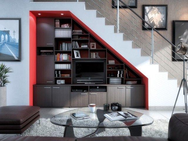 15 Idees Pour Amenager L Espace Sous L Escalier Escalier