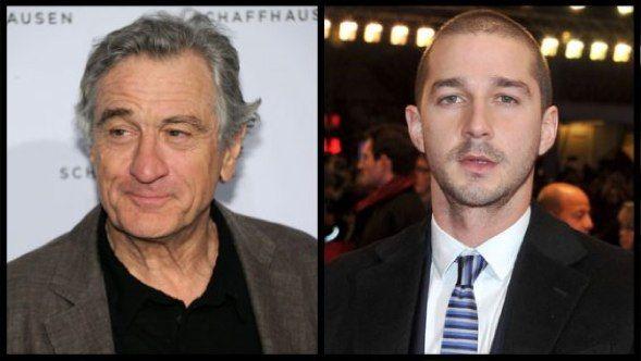 Robert De Niro e Shia ...
