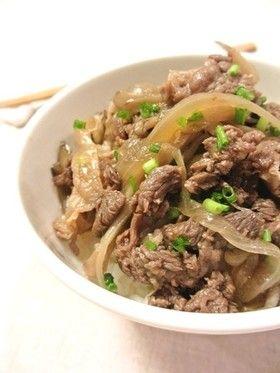 簡単!舞茸牛丼… by みっこ*mikko [クックパッド] 簡単おいしい ...