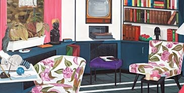 Graham Fletcher's 'Lounge Room Tribalism'