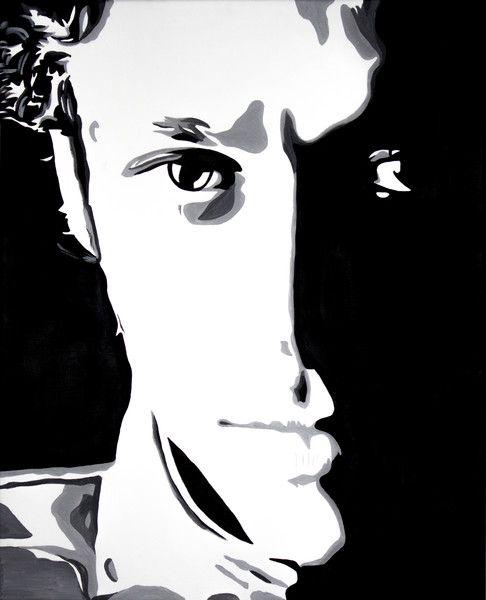 Valentino Rossi - Pop Art di Monica De Luca su DaWanda.com