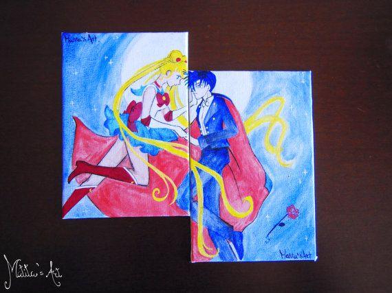 Sailor Moon canvas