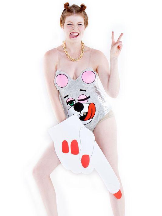 Hot for Halloween: Miley twerk suits, foam fingers!