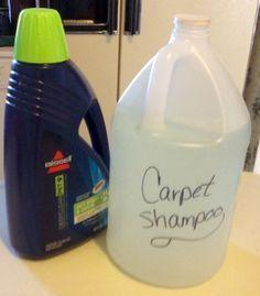 Homemade Carpet Shampoo                                                                                                                                                      More