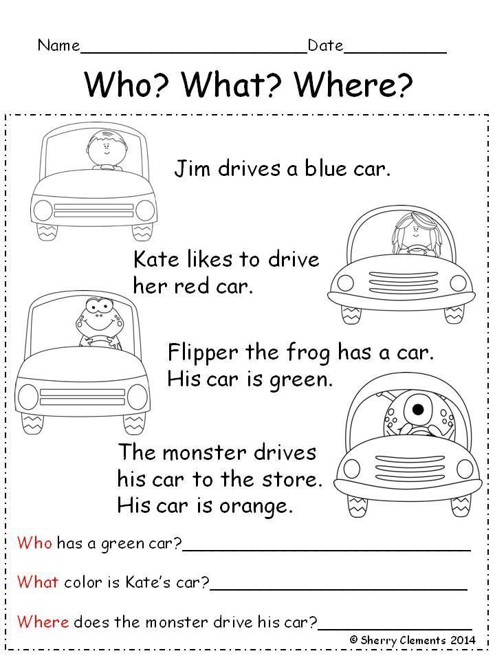 Image Result For Reading News Comprehension For Kids With