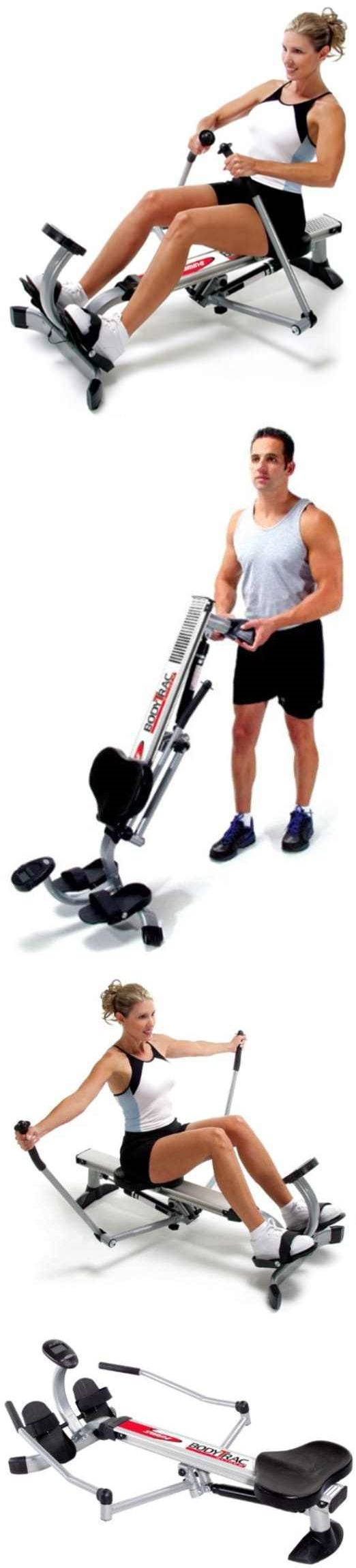 Rowing Machines 28060: Rowing Training Machine Home Gym Muscle Fitness Muscle With Monitor Comfy New -> BUY IT NOW ONLY: $180.5 on eBay!