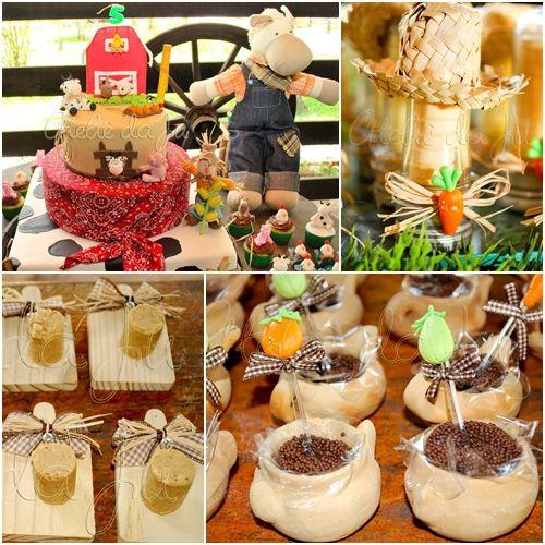 Fiesta de Cumpleaños en la granja Fiestas para Niños Variadas Pinterest Farms, Fiestas and