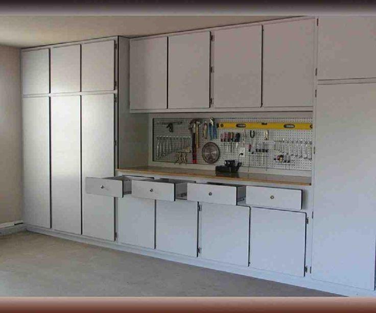 Top 25 best garage cabinets ideas on pinterest garage cabinets diy garage storage cabinets - Space saving garage shelves ideas must have ...