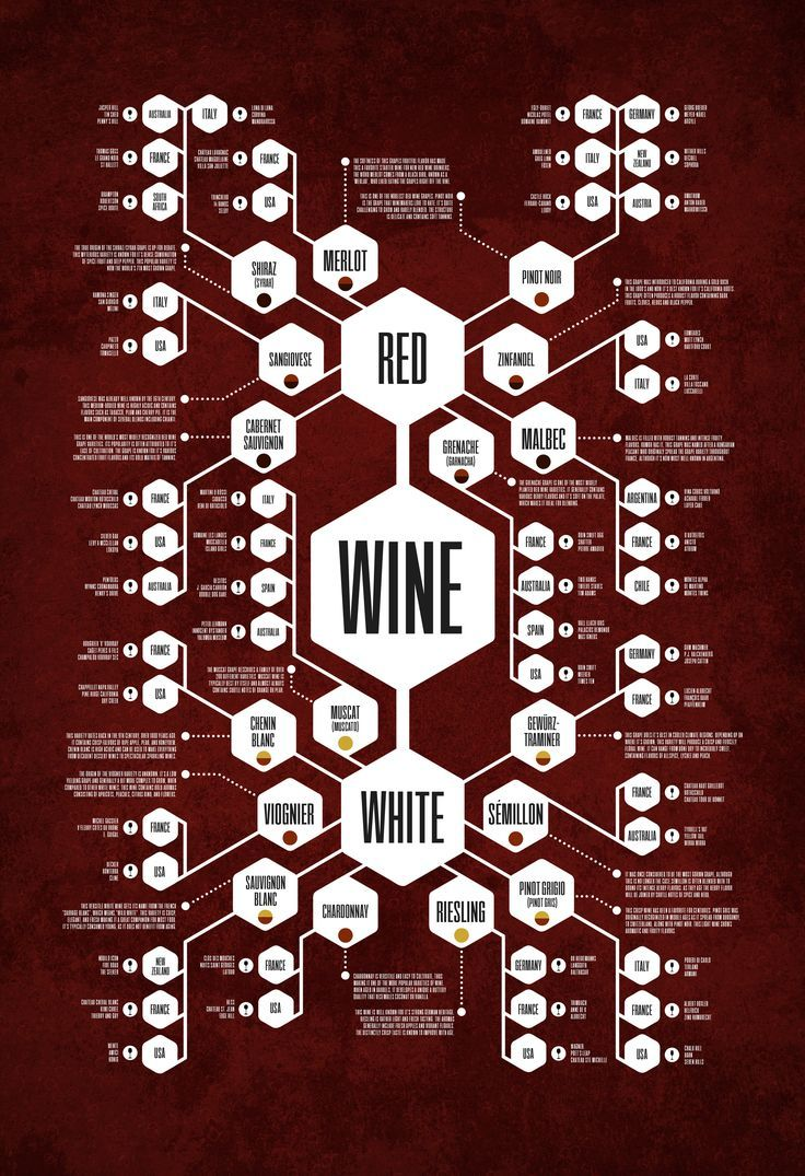 The Ultimate Wine Flow Chart Wine Diagram Poster By Jason Haynes Wine Chart Wine Infographic Wine Facts