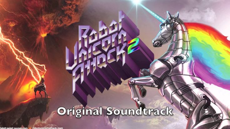 "Robot Unicorn Attack 2 Soundtrack #1 ""Land of Rainbows"""