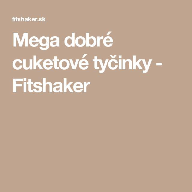 Mega dobré cuketové tyčinky - Fitshaker