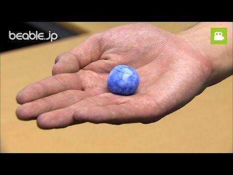 【夏休みの工作】 塩と洗濯のりで作ろう!スーパーボールの作り方【ビエボ】 | 小学生夏休みの自由研究 - YouTube