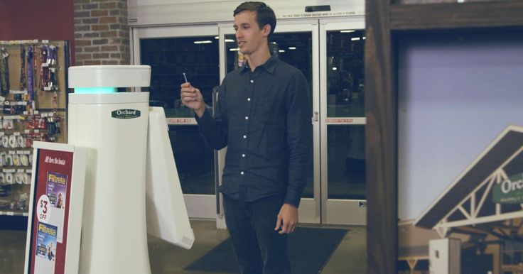 OSHbots - Starting in Dec. 2014, machines called OSHbots will assist customers in one of Lowe's Orchard Supply Hardware stores in San Jose, California.