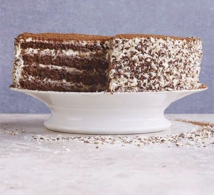 Cakes and Cookies: Tiramisu chocolate cake