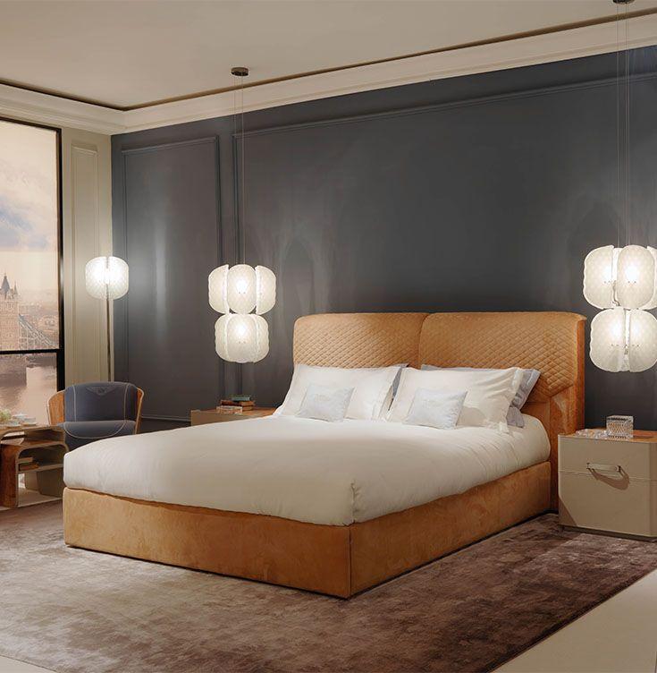 Bentley Home   Berwick Bed And Lanes Bedside Tables  Www.luxurylivinggroup.com #Bentley