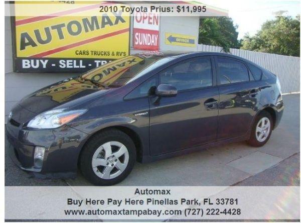 Used 2010 Toyota Prius for Sale in Pinellas Park, FL – TrueCar