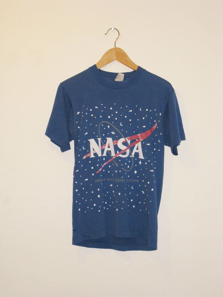Vintage 1980s NASA Distressed TShirt by specialtyvintage on Etsy, $24.00