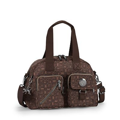 Kipling Bag Defea Monkey Mania Br: LOVE the monkey design on this one