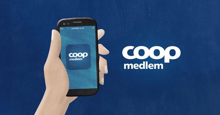 Medlemskort og kuponger på mobilen. Smart, enkelt og alltid tilgjengelig.