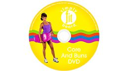 CORE AND BUNS WORKOUT DVD