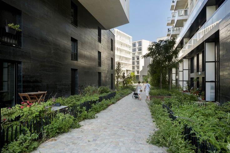 Open Spaces in Residential Development in Boulogne Billancourt by Mutabilis «  Landscape Architecture Works | Landezine