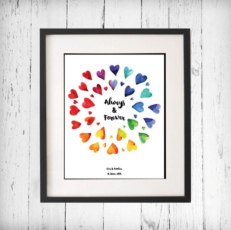 Lesbian Wedding Gift - Lesbian Couple Wedding Ideas - Lesbian Love Quotes