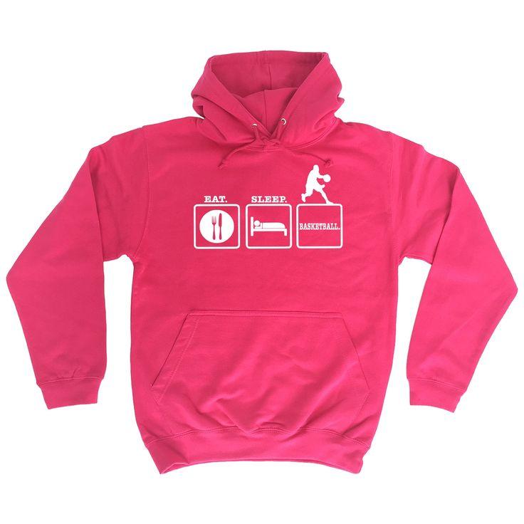 Kaufen Sie 123t Eat Sleep Basketball Funny Hoodie bei 123t T-Shirts & Hoodies für nur € 18.79   – Products