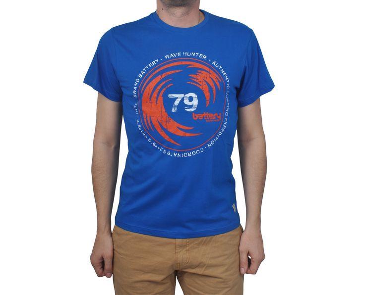 """Ανδρική Μπλούζα T-Shirt """"Kandon"""" σε χρώματα 100% Βαμβάκι"""